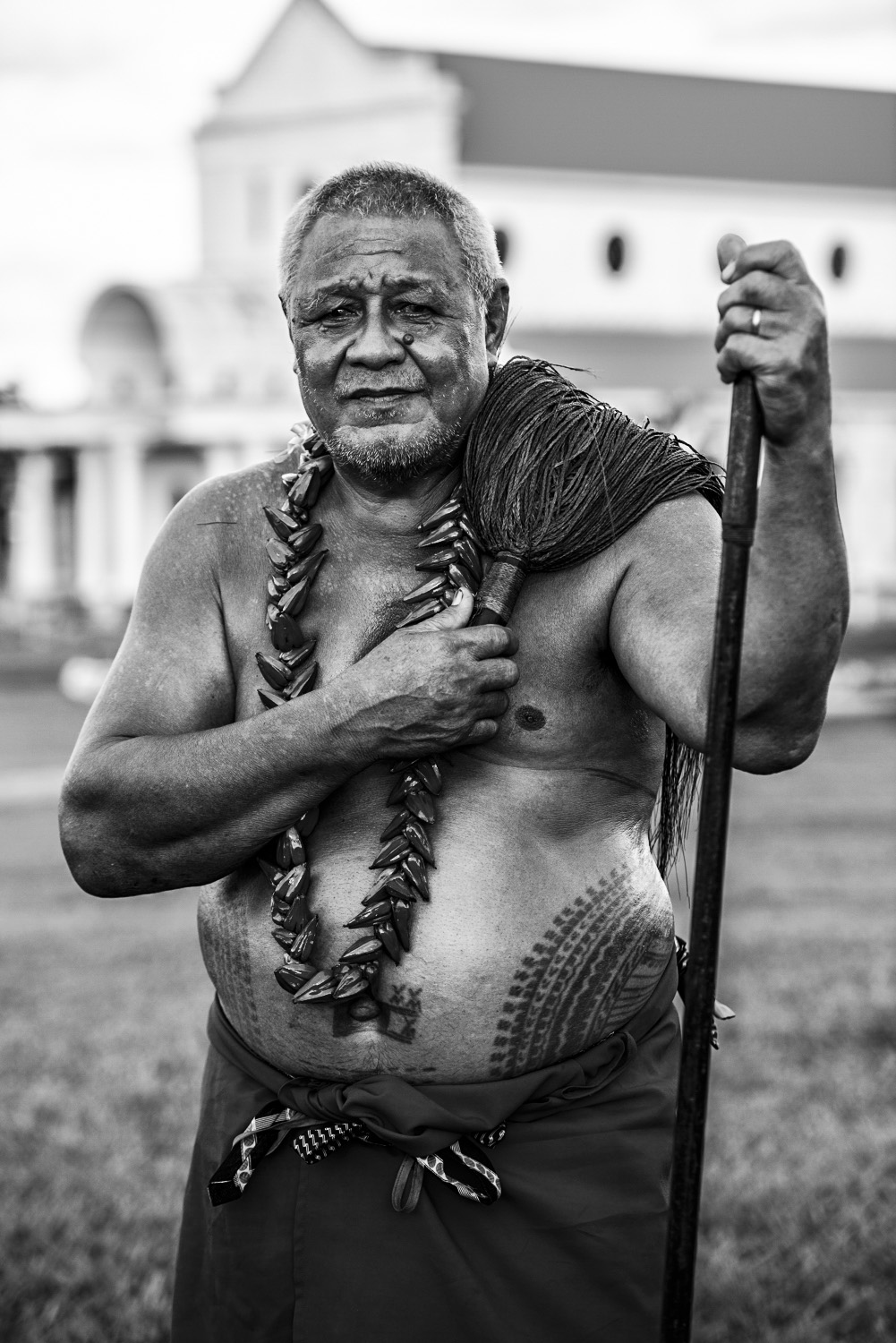 image of AARONTAIT COPYRIGHTED 2014 253 SAMOA TATAU TRADITION TATTOO PACIFIC UPOLU SAVAII CHIEFS VILLAGE FAA SAMOA PEA MALU DOCUMENTARY PHOTOGRAPHER BLACK WHITE PORTRAIT